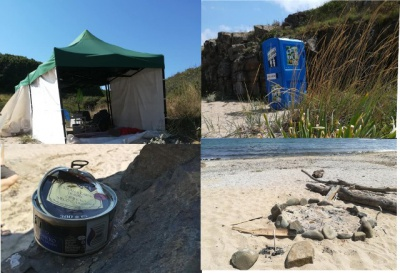 "Regional Inspectorate of Environment and Water (RIOSV) - Burgas issued a decree of ""Will Games"" to remove garbage at two protected beaches in Burgas"