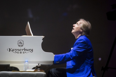 Concert by Richard Clayderman at the National Palace of Culture, Sofia (28.11.2018)