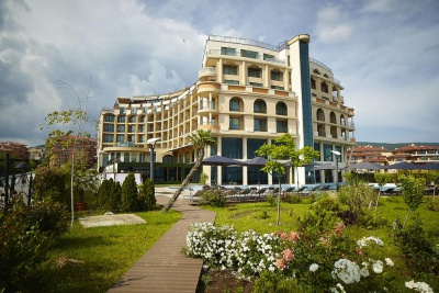 Grand Hotel Sveti Vlas is the only complex operating all year round on the Southern Black Sea coast