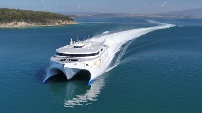 High-speed catamaran will travel on the Bourgas-Ineada-Istanbul route
