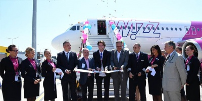 Wizz Air with 6 new routes and a new airplane in Varna