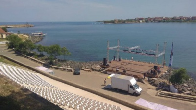 The only Bulgarian stage in the sea is in Tsarevo
