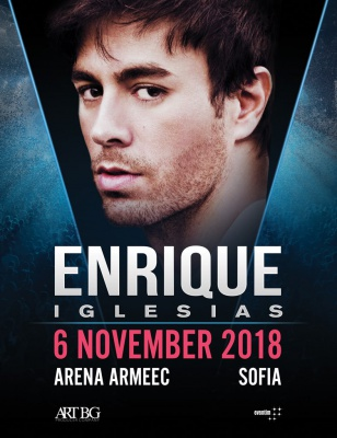ENRIQUE IGLESIAS - All The Hits Live - November 6, Sofia, Bulgaria!
